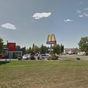 McDonald's on Mayor Magrath Drive North. Photo credit to Google Maps.